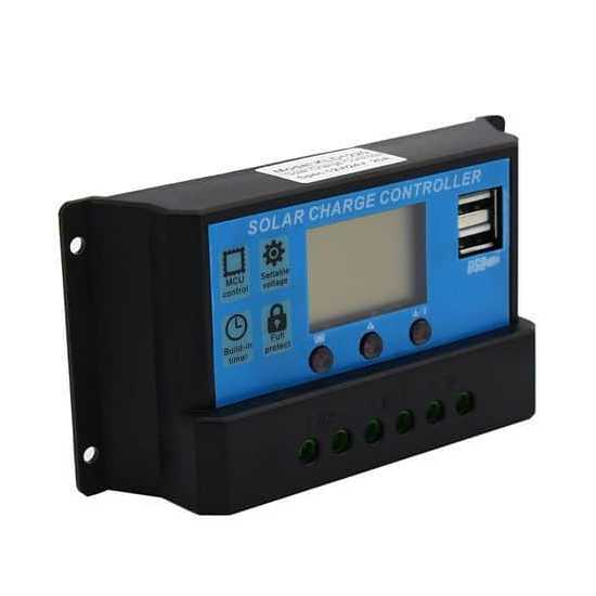 Solar Charge Controller PWM Dc 12v/24v 10A/20A