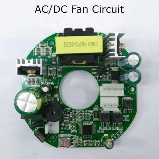 Ceiling Fan Circuit AC/DC 45W Kit Module Remote