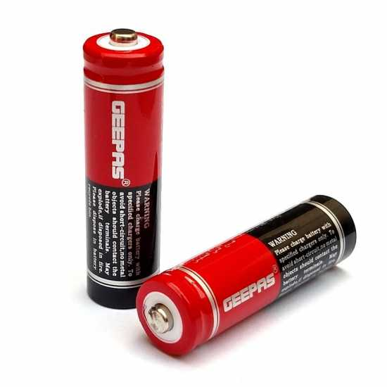 GEEPAS AA RECHARGEABLE CELL 1.2V NI-MH BATTERY