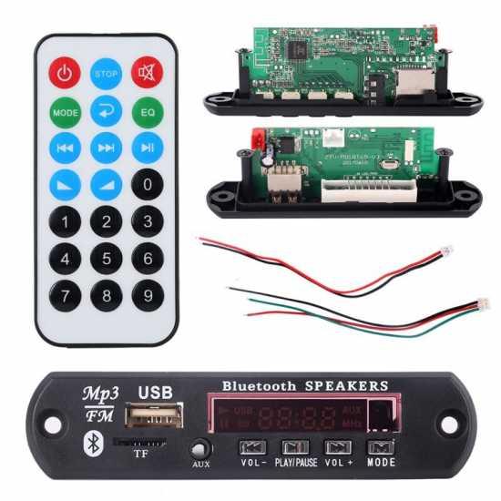Mp3 Kit Bluetooth Player Circuit Module USB/SD/FM/Remote