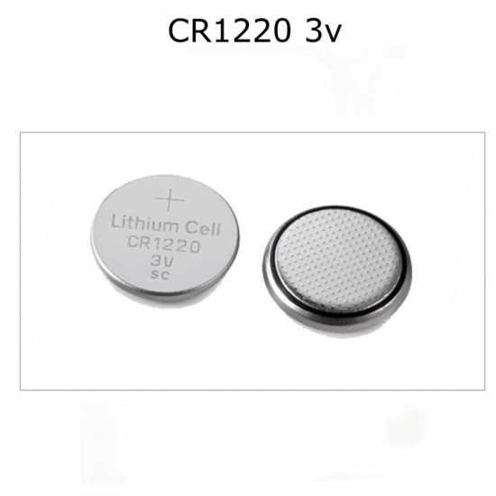 5 Pcs CR1220 Lithium Button Coin Battery 3V