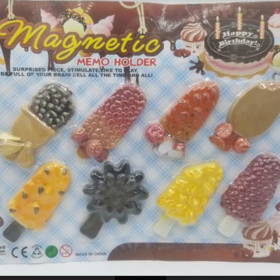 Magnetic memo holder