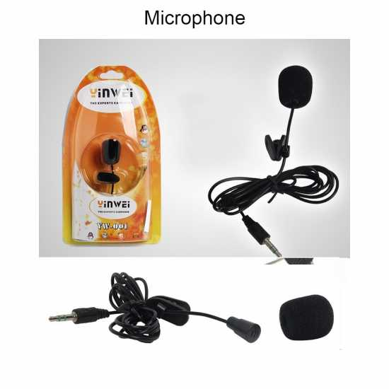 Professional Collar microphone for PC/Laptop & Phone