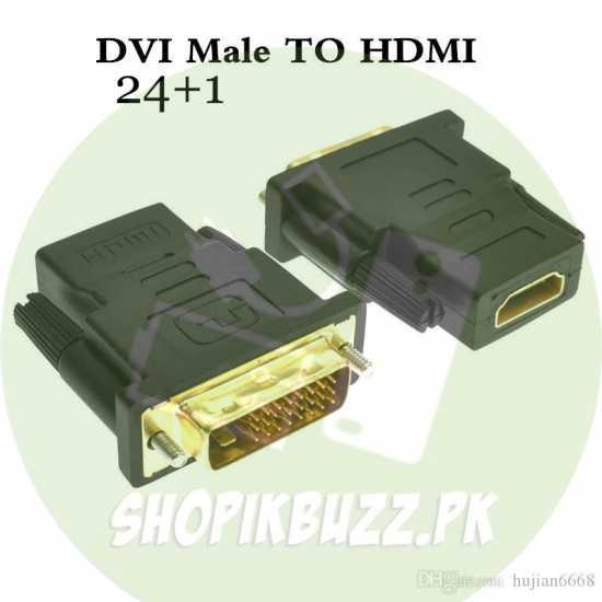 HDMI female to DVI male connector / DVI Male to HDMI Female Converter / HDMI...