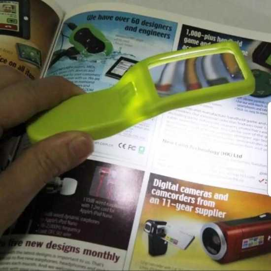 Magnifying Glass Microscope