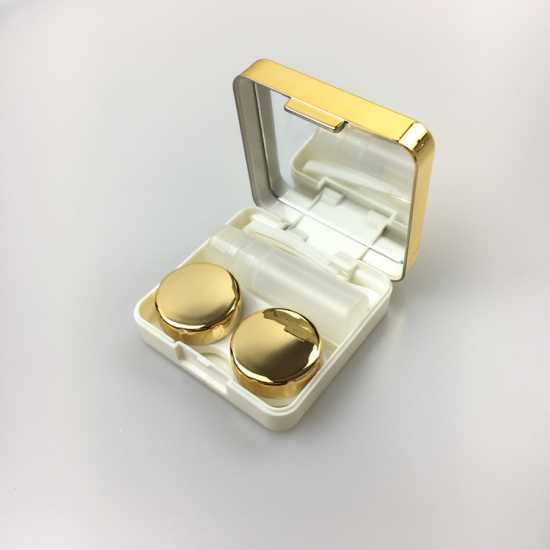 Contact Lens Case Travel Kit Easy Take Container Hold Cute Style Pocket Mini...