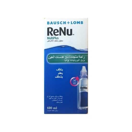 ReNu MultiPlus 120ml solution For eye contact lenses
