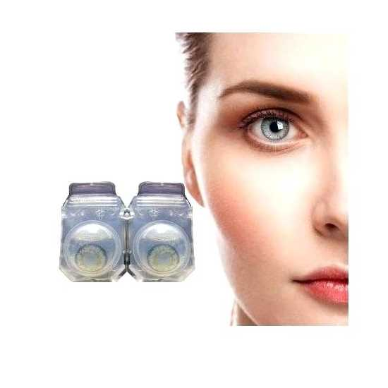 Contact lenses in Grey Color---With Container