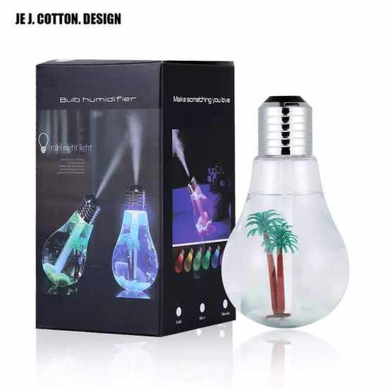 Bulb Ultrasonic Air Humidifier Mini Diffuser Mist Maker Fogger Air Purifier...