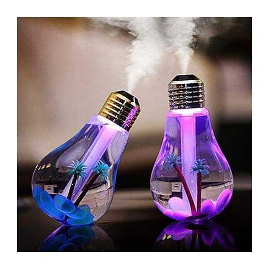 Led Lamp Air Water Mist Humidifier Bulb Air Purifier for Incubators