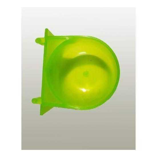 Birds Water Drinking Cup Round - Green