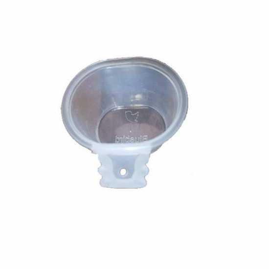Lot 5/ Pcs.Grit Soft food pot bowl Small - White