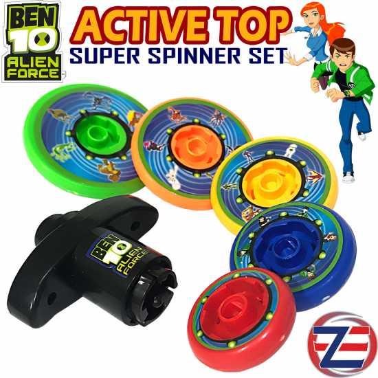 Ben 10 Spinner Toy - Set of 5