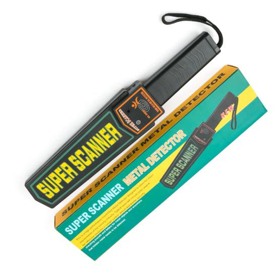 Metal Detector Body Scanner Handheld Security equipment Super Scanner