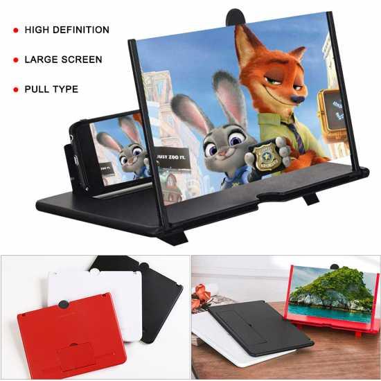 10 Inch  Fashion 3D Phone Screen Amplifier Mobile Portable Universal Screen...