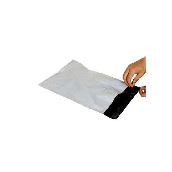 SIZE 8 X 11 PLAIN COURIER FLYER BAGS WITH POCKET