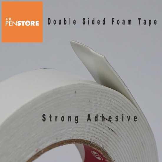 Super Strong Double Sided Foam Tape 1 inch 21 feet