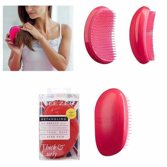 Tangle Teezer Hair Brush- Plastic Hair Brush Massager- Wet and Oily Usage
