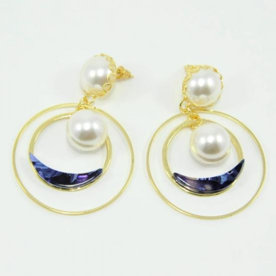Fashionable Hoop Women's Earrings