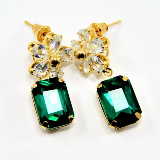 Graceful Cubic Zirconia Earrings