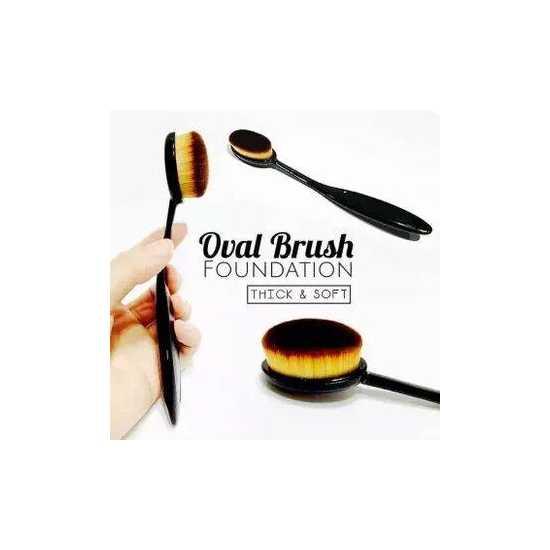 Oval blending brush - Foundation Brush