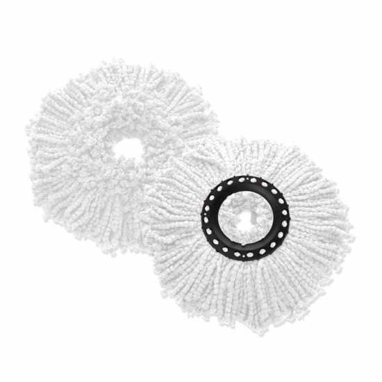 Home Cleaning Spin Mop Head Replacement, Microfiber Refill Heads Universal...