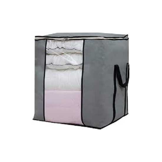 Pack of 3-Storage Bags Organizers for Comforter, Blanket for Closet and Under...