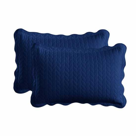 Embossed Bed Spread Set King Size - 3 Pcs Quilted Bedding Set with Pillow...