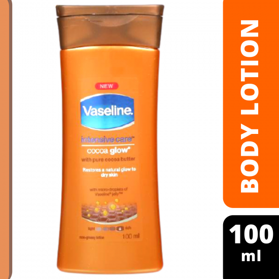 Vaseline's Intensive Care Cocoa Glow Lotion 100 ml