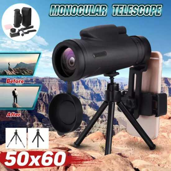 50x60 Magnification 1500M/9500M Portable Monocular