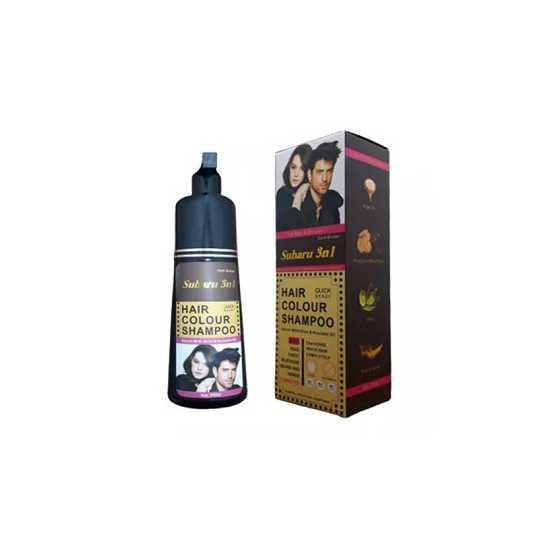 Dexe Subaru Magic Dark Brown Hair Shampoo, Dark Dark Brown Hair-SK