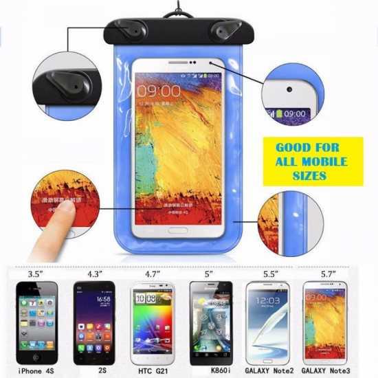 Waterproof Mobile bag Smartphone case Universal underwater