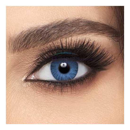 FFRESHLOOK COLOR CONTACT LENSES BRILLIANT BLUE