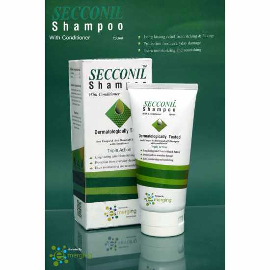 EMERGING SECCONIL SHAMPOO WITH CONDITIONER 150ML Itching Relief Shampoo with...