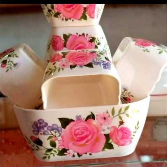 New Ice Cream Bowl In Melamine