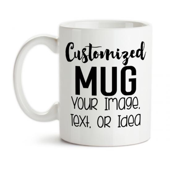 Customized Mug Print Your Picture On Mug Or Cup Of Tea And Coffee