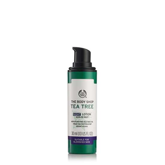 Imported The Body Shop Tea Tree Night Lotion 30 ML