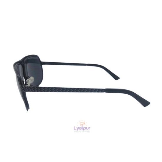 Aviator Sunglasses Metal Carbon Fiber Look