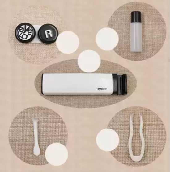 LENSES Travel Kit + MOBILE Stand