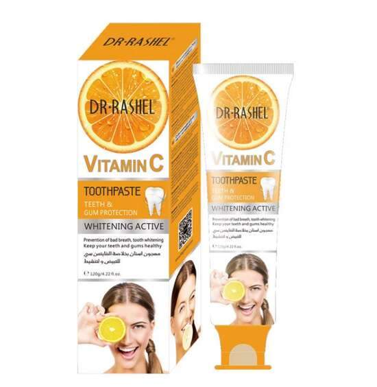 DR.RASHEL Oral Cleaning Freshing Whitening  Vitamin C Toothpaste - DRL-1508