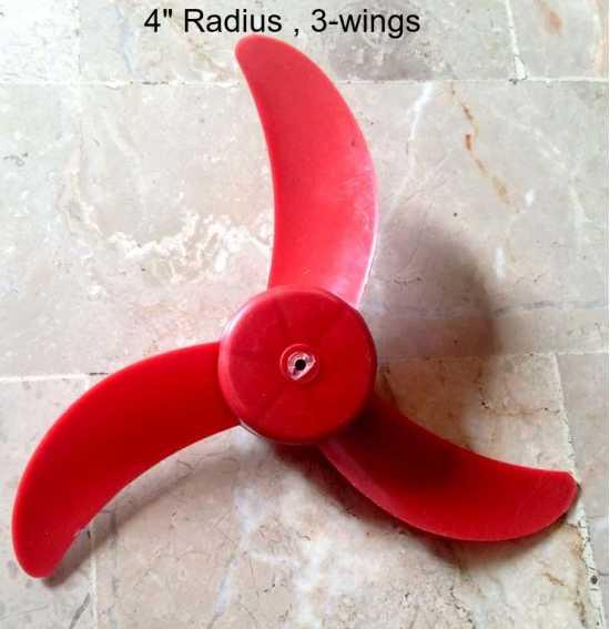 Fan propeller Fan Wing Fan Blade