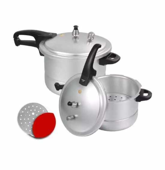 Sonex Royal Steamer Pressure Cooker - 9L  11L  13L  15L  18L