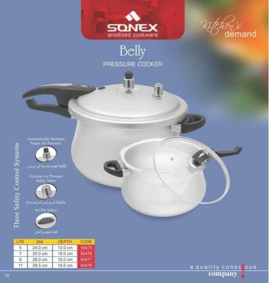 Sonex Belly Pressure Cooker