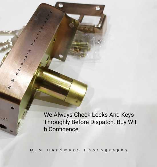Main Gate Lock High Security 5 Keys