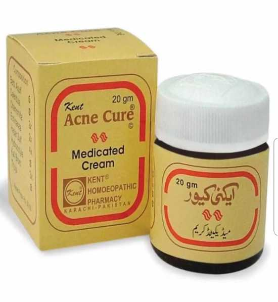 Kent Acne Cure Medicated Cream Pimples Recover Cream for Girls Women - 20g