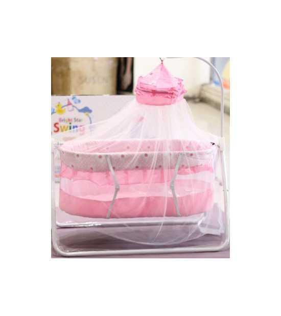 Baby Cradle with Double Mosquito Net for baby comfortable sleeping