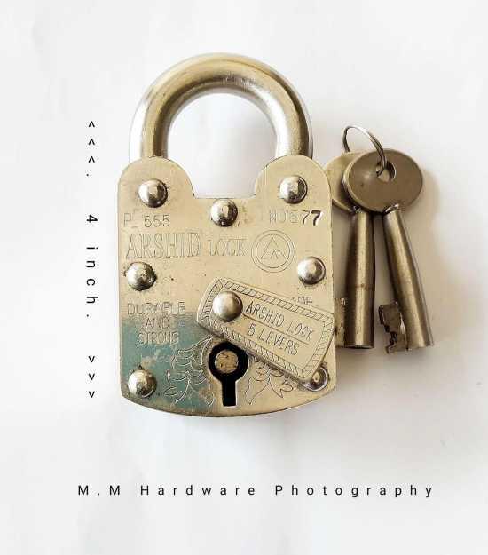 Pad Lock, Heavy Duty, (56mm) Desi Lock Full Size