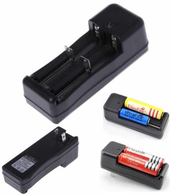 Universal 3.7V to 4.2V dual battery balance charger 18650 16340 26650  li-ion