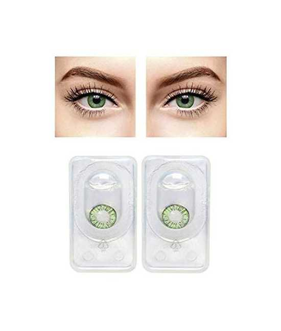 Triple Tone Contact Lenses  in Green color