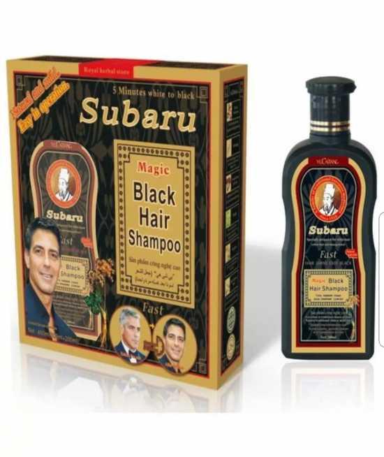 Subaru Black Hair Magic Shampoo - 200ml